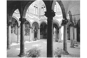 アントニオ ・ サンガロ作 宮廷の中庭